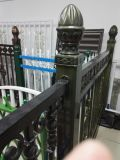 構築、装飾、カスタマイズされたOEMの金属、アルミニウム、ステンレス鋼、亜鉛は鋼鉄ドアの塀に電流を通した