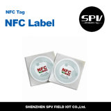 OIN 14443A de Ntag 215 d'épreuve de l'eau d'animal familier d'à haute fréquence 13.56MHz d'étiquette de Nfc