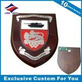 De super Medailles van het Metaal van de Douane van de Kwaliteit met de Houten Trofee van de Plaque van het Schild