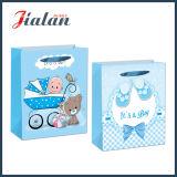 """"""" Es ist ein Jungen-"""" gedruckter Baby-Geschenk-Verpackungs-kaufender Papierbeutel"""