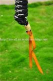 Paard Halter van de Kroon van de Apparatuur van Equestrain het PA Gevlechte met Lood