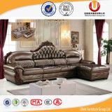 Gli insiemi di salone della mobilia di disegno moderno comerciano il sofà all'ingrosso della mobilia (UL-B2015)