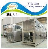 Máquina de rellenar del agua del tarro del barril de 5 galones