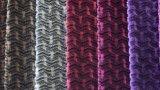 Tissu décoratif à la maison de velours de pile de circuit de polyester