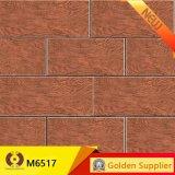 木の穀物のタイルは艶をかけた床(M6524)のための磁器の床タイルを