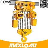 7.5ton polipasto eléctrico de cadena con el tranvía eléctrico Tipo (HHBB7.5-03SE)