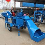 Machine de brique de bloc de la terre comprimée par ciment jumeau de sol de Hydraform de dîner des machines Wt2-20m (CEB) M7mi de Wante