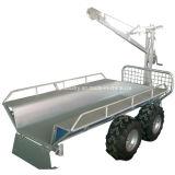 Venta al por mayor de China ATV Remolque de madera, remolque de madera con grúa, remolque cargador de registro, remolque con grúa (003)