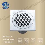 """스테인리스 목욕탕 기계설비 지면 하수구 (D14-A-3.5 """")"""