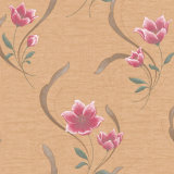 Deep Embossed Floral를 가진 호화스러운 Decorative Wall Paper