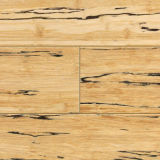 Suelo de bambú sólido de Strandwoven de la colada blanca de Uniclic
