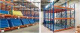 Cremalheira viva dinâmica da gravidade resistente para a solução do armazenamento do armazém