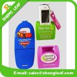 Soporte caliente del teléfono móvil del caucho de silicón de la venta 2016