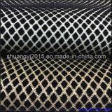 Unité centrale en cuir de lacet de scintillement s'assemblant le tissu pour le sofa de capitonnage de chaussures