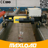 10トンの二重ガードワイヤーロープの電気起重機(MLER10-06D)