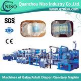 Pañal eficaz del bebé del servocontrol que hace la máquina con la velocidad (YNK500-SV)