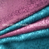 Satin 100% en soie de jacquard de polyester pour Madame Fashion Clothes