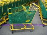 スーパーマーケットプラスチックプラストマーショッピングハンドトロリーカート