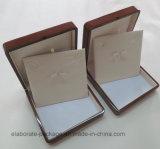 Коробки ожерелья печатание логоса коробка Packaigng деревянной деревянная