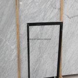 Итальянский сляб Bianco Carrara белый Polished мраморный для плиток и Countertops