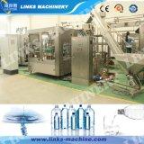 Relleno que se lava automático del agua mineral capsulando 3 en 1 máquina