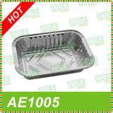 Bandejas disponibles de empaquetado capaces del papel de aluminio de Shangai