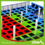 Parque de interior modificado para requisitos particulares alta calidad barata del trampolín de 2015 niños