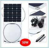 Painel solar flexível elevado de eficiência 50W com boa qualidade