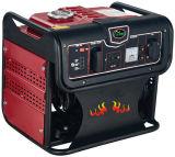 Générateur d'essence d'utilisation à la maison manuelle monophasé petit