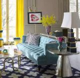Sofà domestico per il sofà del tessuto del sofà di Chesterfield