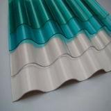 屋根ふきに使用する防水波形のポリカーボネートシート