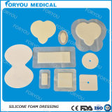 Absorbent eccellente Dressings Wound Care Foam Dressings con Silicone