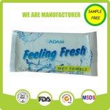 toalha molhada macia do tecido 100%Cotton aos EUA