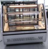 아름다운 외관에 의하여 구부려지는 유리제 문 전시 냉각기