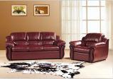 Sofà di cuoio moderno per la base di sofà della mobilia del sofà del salone