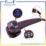Encrespador de cabelo automático da indicação digital do LCD