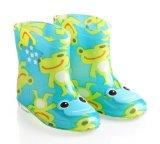 La nouvelle fille de modèle de fantaisie de conception badine les chaussures, PVC Rainboots