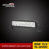 """13.5 """" barras claras brilhantes do diodo emissor de luz 4X4 do CREE 80W auto"""