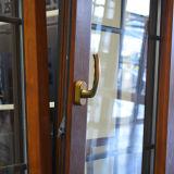 Finestra di legno di alluminio della stoffa per tendine Kz205 con la finestra fissa del multi arco della serratura