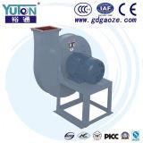 Ventilator van de Hoge druk van Yuton de Centrifugaal Turbo met de Externe Motor van de Rotor