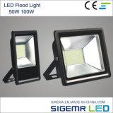 Indicatore luminoso di inondazione di qualità poco costosa e buona LED 50W 100W
