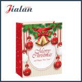 Feliz Natal & saco de papel do presente do portador da forma do ano novo feliz