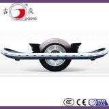 単一の車輪が付いている電気自己バランスの漂うスクーター