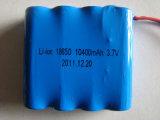 Bateria de lítio recarregável 18650 3.7V da capacidade total 3000mAh