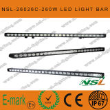 43 인치 LED Driving Light Bar, 4x4 260W LED Driving Light, 10W 크리 말 Light Bar, 크리 말 Single Light Bar