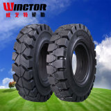 Facile-Ajuster le pneu solide 28X9-15, pneu solide de cliquetis du pneu 8.15-15 de chariot élévateur