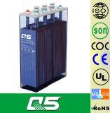 batería de 2V2500AH OPzS, batería de plomo inundada que batería profunda tubular de la batería VRLA de la energía solar del ciclo de la UPS EPS de la placa 5 años de garantía, vida de los años >20