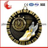 専門の製造業者のステンレス製の鉄の印刷メダルバッジ