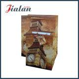La laminación mate de la impresión colorida modifica la bolsa de papel para requisitos particulares barata de la laminación de la insignia