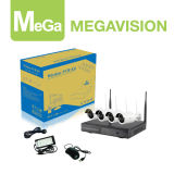 HD 720p 4CH Plug and Play WiFi NVR Kit (MG-NVK-6404B-4EXW)